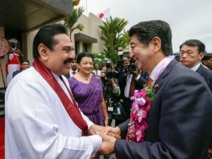 Japan Sri Lanka Leaders Agree Stronger Maritime Links