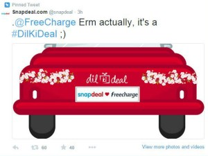 Snapdeal Pays Up A Freecharge
