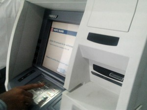 Atm Use Hdfc Bank Stop Paper Slips Send Detailed Smses