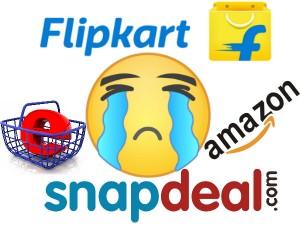 Flipkart Amazon Snapdeal Play It Safe Weekend
