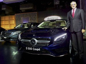 Mercedes Benz Unveils New Class India Its 15th Car