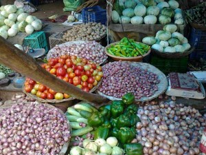 Women Feel Happy As Veggies Price Come Down