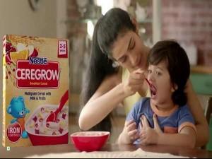 Nestle Enter Breakfast Cereals With Ceregrow