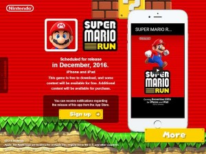 After Iphone Surprise Super Mario Works Like Magic Nintendo