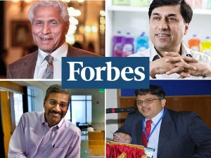 Five Indian Americans Among America S Richest People Forbes