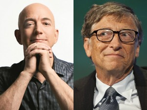 Jeff Bezos Momentarily Outshining Microsoft S Bill Gates As The Worlds Richest Person