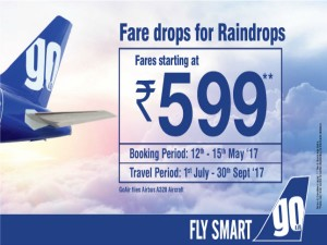 Goair Sells Tickets Starting Rs 599 Under New Offer
