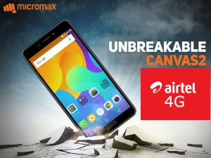 Airtel Micromax Tie Up Offers 1 Year Free 4g Service On Canvas