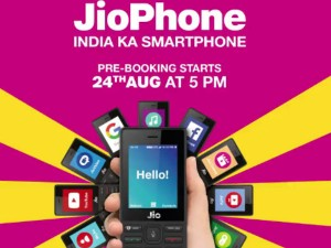 Jio Phone Pre Booking Starts From 5pm Today Rs