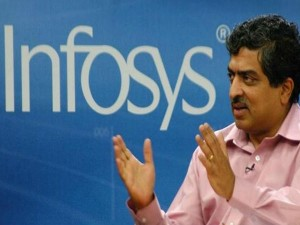 Infosys Gains Rs 7 000 Crore On Nilekani S Return