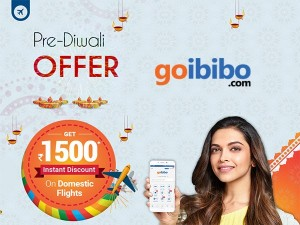 Goibibo Pre Diwali Offer Get Rs 1500 Instant Discount On Flight Ticket Booking