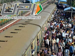 Book Rail Tickets Via Upi At Reservation Counters