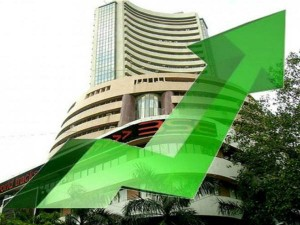 Sensex Gains 216 Pts Post Gujarat Exit Polls