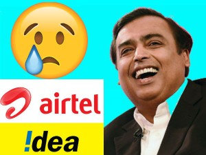 Airtel Idea Stocks Bleed After Reliance Jio Unveils Republ