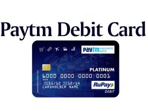 How Apply A Paytm Debit Card