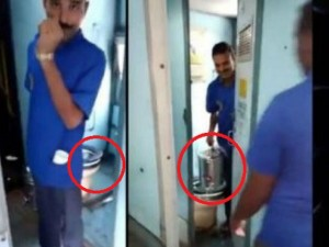Railways Fine Vending Contractor Rs 1 Lakh After Video Suggets Toilet Water Mixed In Tea Coffee