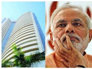 Ahead Modi Government Trust Vote Sensex Closed Flat