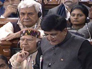 Budget 2019 Clean India Electrified India Piyush Goyal Lists Out Bjp Achievements