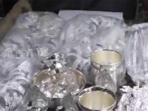 Unaccounted Silver Seized Salem