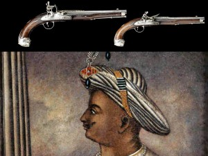 Tipu Sultan S Silver Mounted Gun Auctioned For 60 000 Pounds