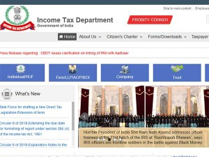 Income Tax Return Forms For Fy 2018 19 Released By Cbdt