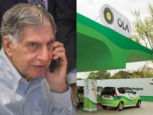 Ratan Tata Invests In Ola Electric Mobility S Serious