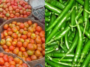 Beans Green Chilli And Tomato Price Goes Up In Bengaluru