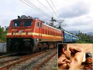 Western Railways To Drops Proposal Of Providing Massage Service In Train
