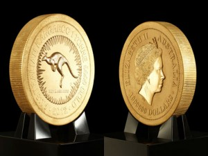 World Largest Gold Coin Is In New York Stock Exchange