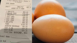 Two Eggs Cost Rs 1700 After 2 Banana Cost Rs 442 For Rahul Bose