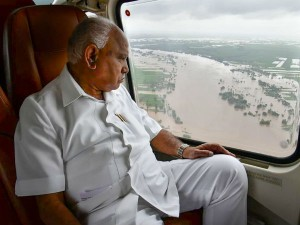 Karnataka Cm Announces Rs 5 Lakh Relief To Who Lost Houses Flood