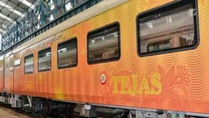 First Private Train Delhi To Lucknow Tejas Express Charges Here