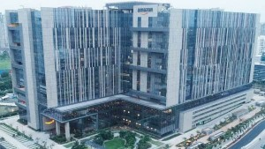 Amazon Hyderabad Office Building World Record