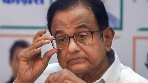 P Chidambaram Said I Am Only Worried About Economy
