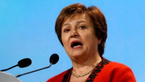 Imf Md Kristalina Georgieva Said That The Indian Women Are So Talented They Have To Come To Work