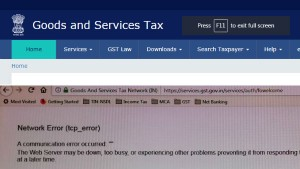 Gst Portal Crashes A Day Before Monthly Return Deadline