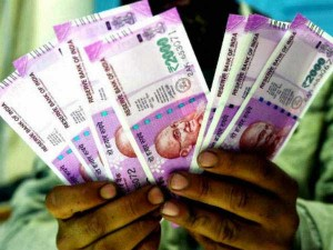 Almost Half Of The Unaccounted Cash Seized Were 2000 Rupees Note