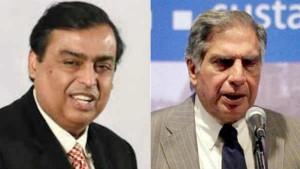 Ambani Vs Tata Fighting For Indias Highest Market Capitaliza