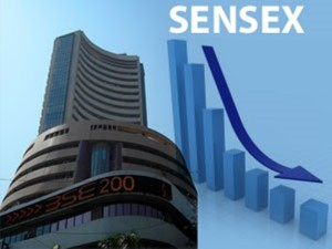 Sensex Starts To Melt Down From Its 40300 Mark Points