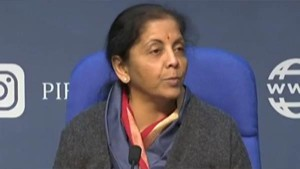 Fm Nirmala Sitharaman Says Rs 102 Lakh Crore Investments In Infrastructure