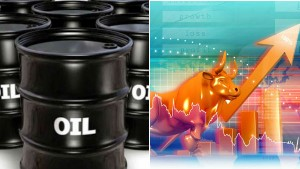 Oil Prices Sink 4 Sensex Jumps 500 Points