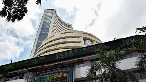 Sensex Trading Low And It Touched Its 41 300 Levels