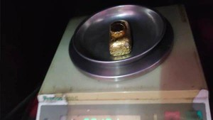 Gold Transformed As Gold Paste To Smuggle