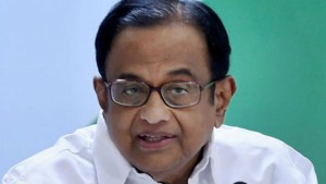 P Chidambaram Replied To Crop Insurance