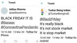 March Friday 2020 Is A Black Friday In Share Market