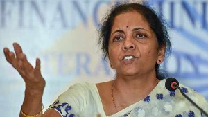 Nirmala Sitharaman Announced Rs 50 000 Crore Public Work Sch