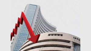 Indian Stock Market Trading Halted Due To Heavy Fall