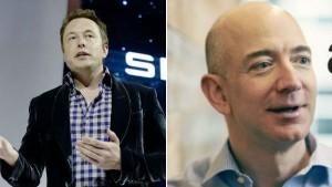 Elon Musk Calls Jeff Bezos As Copycat Again On Twitter