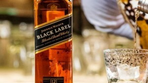 World Famous Scotch Whisky Brand Johnnie Walker Comes In Paper Bottles In