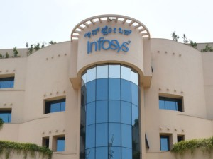 Infosys Shares Hit A New Record High In Bse